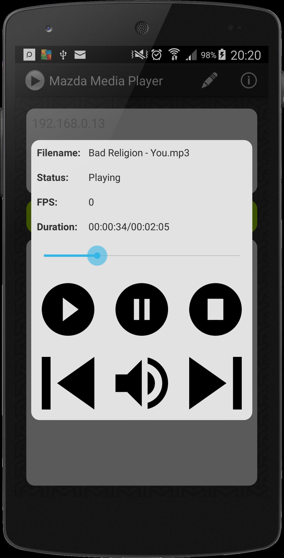 Phone Media Player For Android Phone mazda media player lukasz skalski homepage download